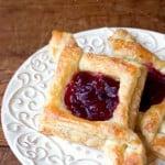 cranberry pastry 1 150x150 Cranberry Jam Diamond Pastry