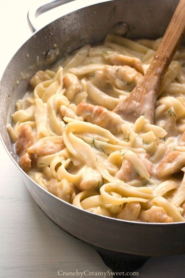 creamy dill chicken pasta Creamy Dill Chicken Pasta Recipe