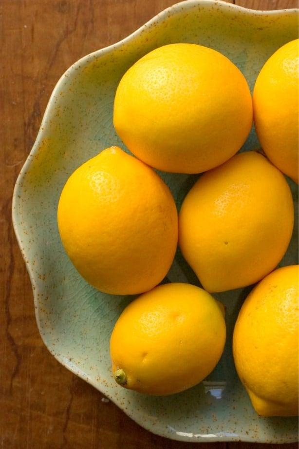 meyer lemons 2 Creamy Lemon Crumb Bars Recipe