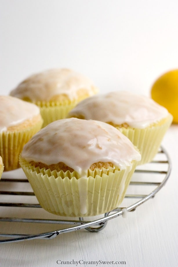 Lemon Muffins with Glaze Lemon White Chocolate Chip Cookies Recipe