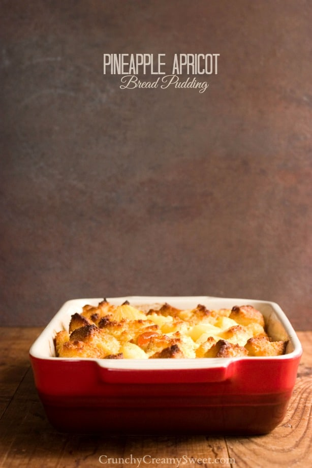 Pineapple Apricot Bread Pudding 1 Pineapple Apricot Bread Pudding Recipe and Giveaway!