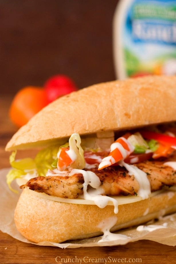 Ranch Grilled Chicken Sandwich 2 Ranch Grilled Chicken Sandwich Recipe