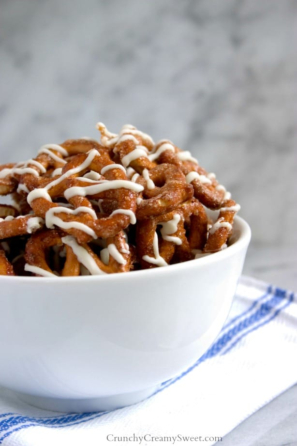 Cinnamon Roll Pretzels Snack Cinnamon Roll Pretzels Recipe