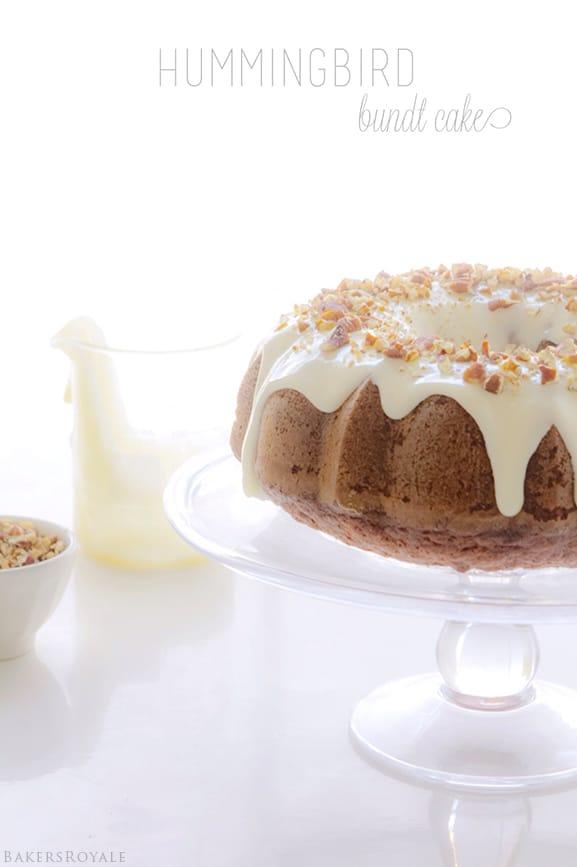 Hummingbird Bundt Cake via Bakers Royale Friday Things and Links