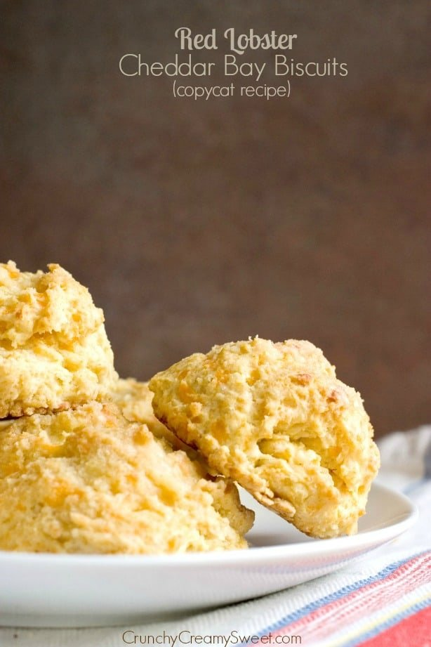 Red Lobster Cheddar Bay Biscuits Recipe from crunchycreamysweet.com 1 Red Lobster Cheddar Bay Biscuits Recipe (Copycat)