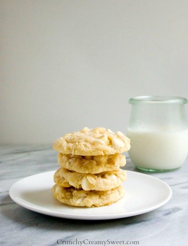 White Chocolate Coconut Softbatch Cookies Coconut Crunch Chocolate Cups Recipe