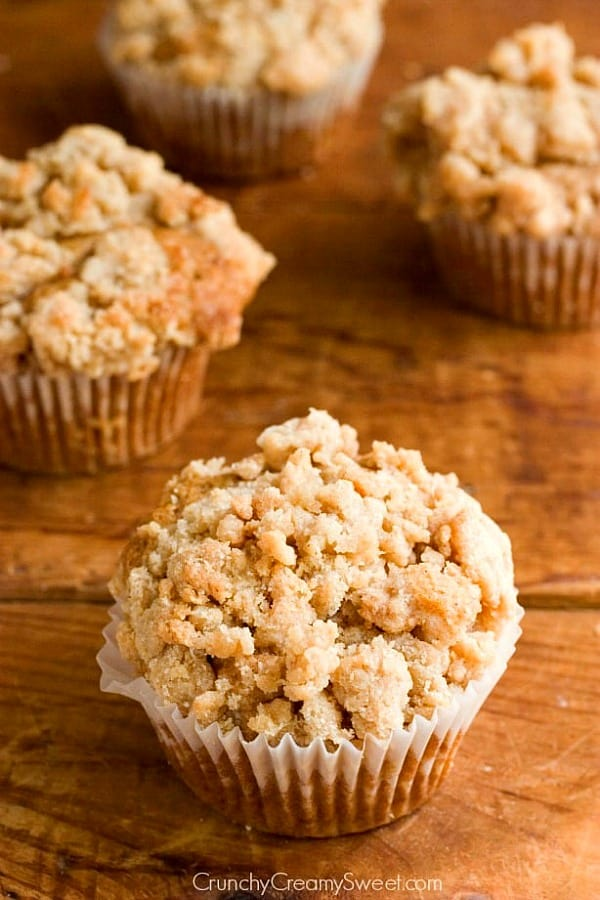 coffee cake muffins A Coffee Cake Muffins