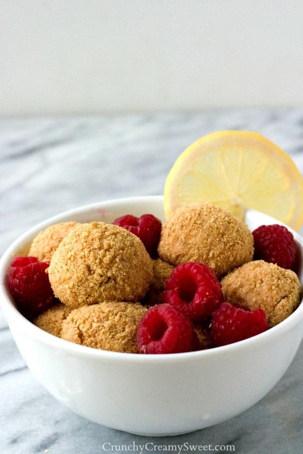 ... Raspberry by crunchycreamysweet.com Lemon Raspberry No Bake Cheesecake