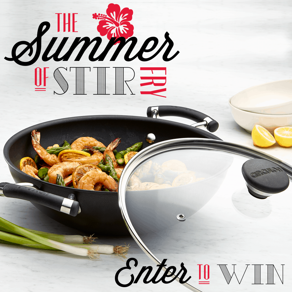 Circulon SummerStirFry Giveaway 1024x1024 Fajita Stir Fry with Lime Quinoa and a Giveaway!
