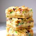 Funfetti Cheesecake Sugar Cookie Bars from crunchycreamysweet.com 1 150x150 Funfetti Cheesecake Sugar Cookie Bars Recipe