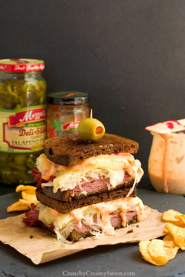 Spicy Reuben Sandwich with Pepper Sauce The Ultimate Spicy Reuben Sandwich Recipe