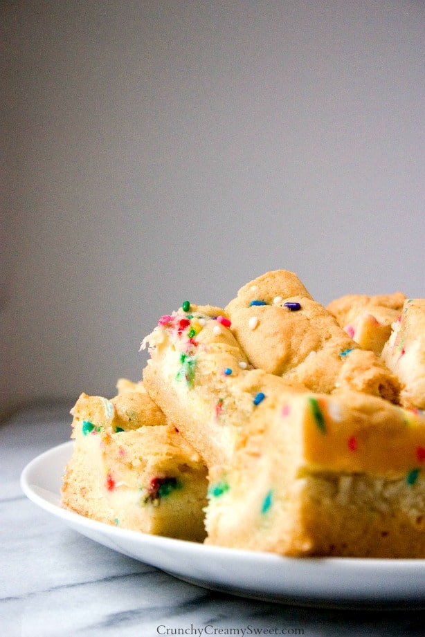 Sugar Cookie Bars Funfetti Cheesecake Sugar Cookie Bars Recipe