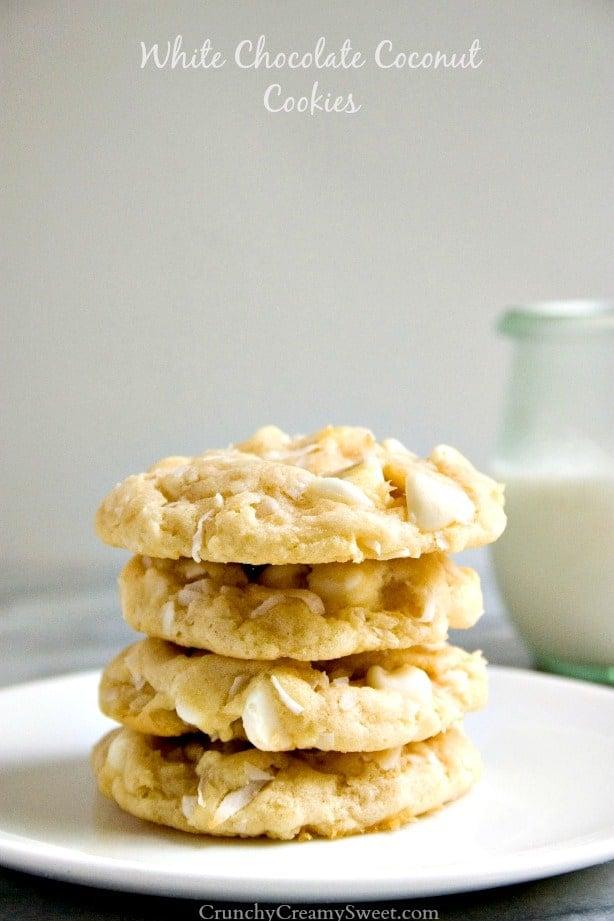 White Chocolate Coconut Cookies Funfetti Cheesecake Sugar Cookie Bars Recipe