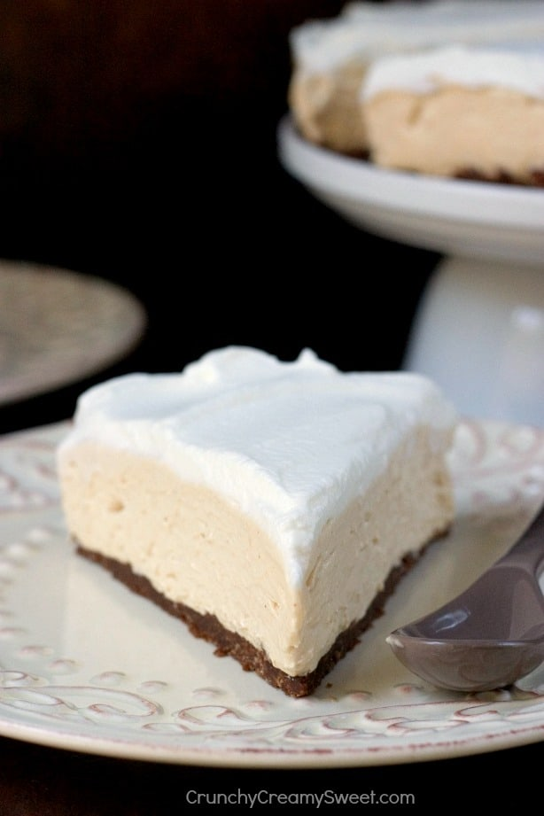 Smooth and Creamy No bake Peanut Butter Cheesecake No Bake Peanut Butter Cheesecake