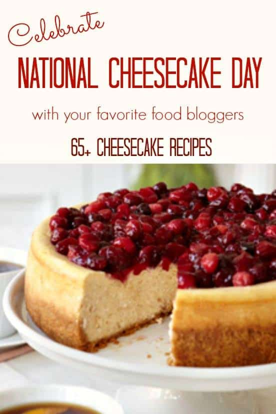 The National Cheesecake Day Round up No Bake Peanut Butter Cheesecake