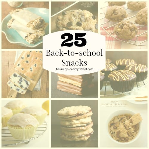 25 Back to school Snack  Back to school Snack Ideas