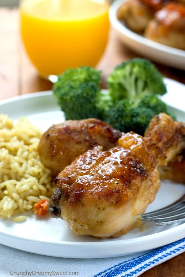 Apricot Baked Chicken with Rice Apricot Baked Chicken with Rice