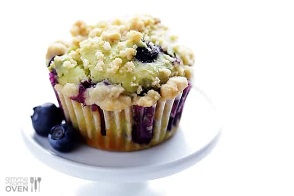 Avocado Blueberry Muffins 1 Back to school Snack Ideas