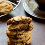 Coffee and Chocolate Chip Cookies from Crunchy Creamy Sweet 150x150 Coffee Chocolate Chip Cookies