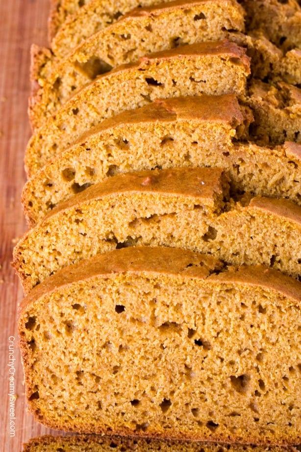 Pumpkin Quick Bread Pumpkin Bread with Cinnamon Cream Cheese Spread