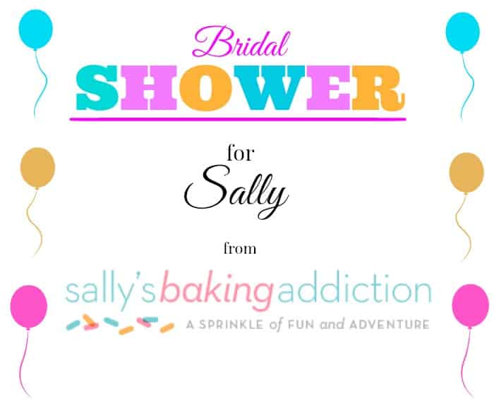 Sallys Shower Logo Funfetti Sugar Cookie Cups with Vanilla Frosting