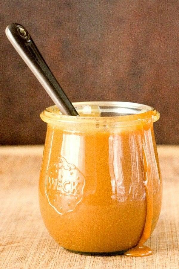 Microwave Caramel Sauce Crunchy Creamy Sweet