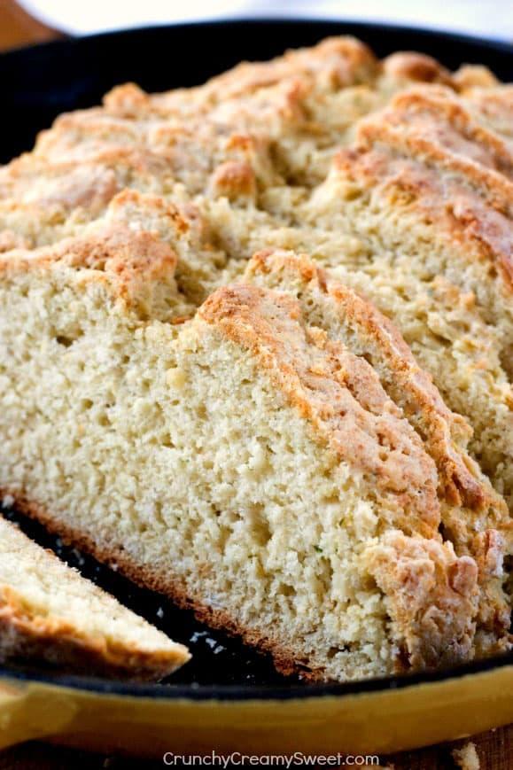 Parmesan Ranch Skillet Bread 1 Parmesan Ranch Skillet Bread