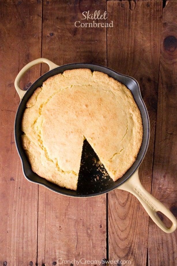 Skillet Cornbread Recipe — Dishmaps