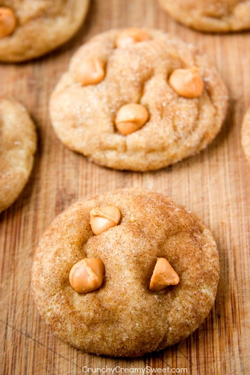 Soft and Chewy Butterscotch Snickerdoodles Soft and Chewy Butterscotch Snickerdoodles