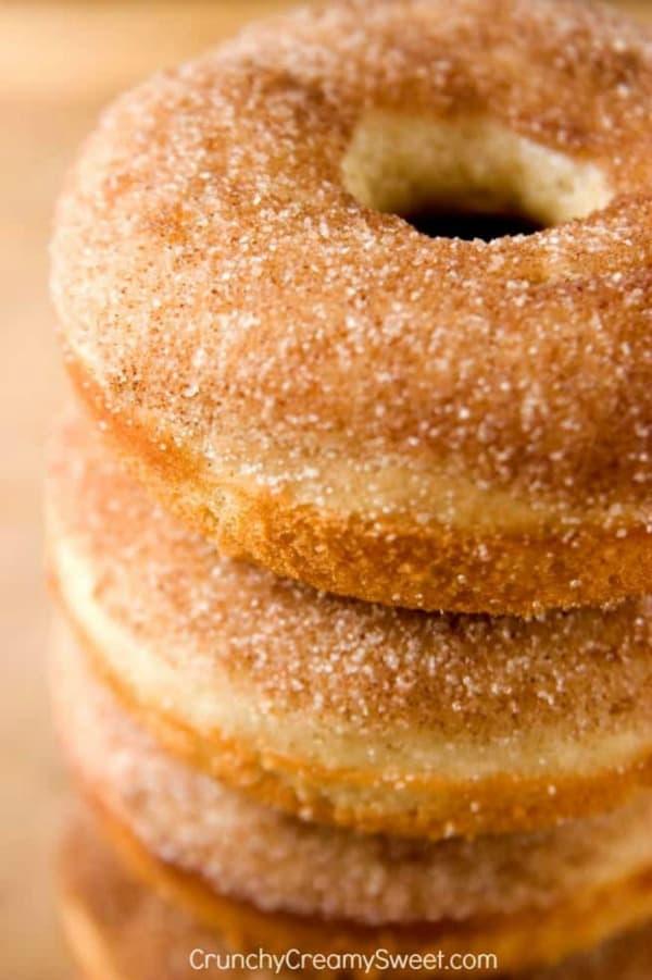 cinnamon sugar donuts A Cinnamon Sugar Donuts