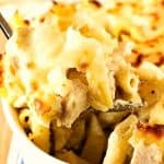 Cheesy Chicken Alfredo Pasta Bake a 150x150 Cheesy Chicken Alfredo Pasta Bake