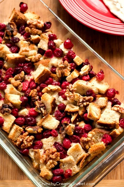 Cranberry Walnut Stuffing Favorite Thanksgiving Recipes Round Up