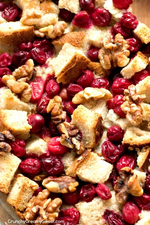 Easy Fruit and Nuts Stuffing with Cranberries and Walnuts Creamy Garlic Slow Cooker Mashed Potatoes