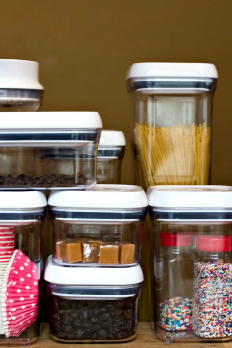 Organizing My Kitchen With Oxo Pop Containers Crunchy