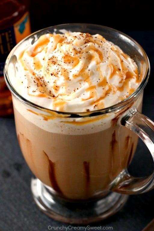 Salted Caramel Mocha Latte Caramel Swirl Cheesecake Chocolate Chip Cookie Bars