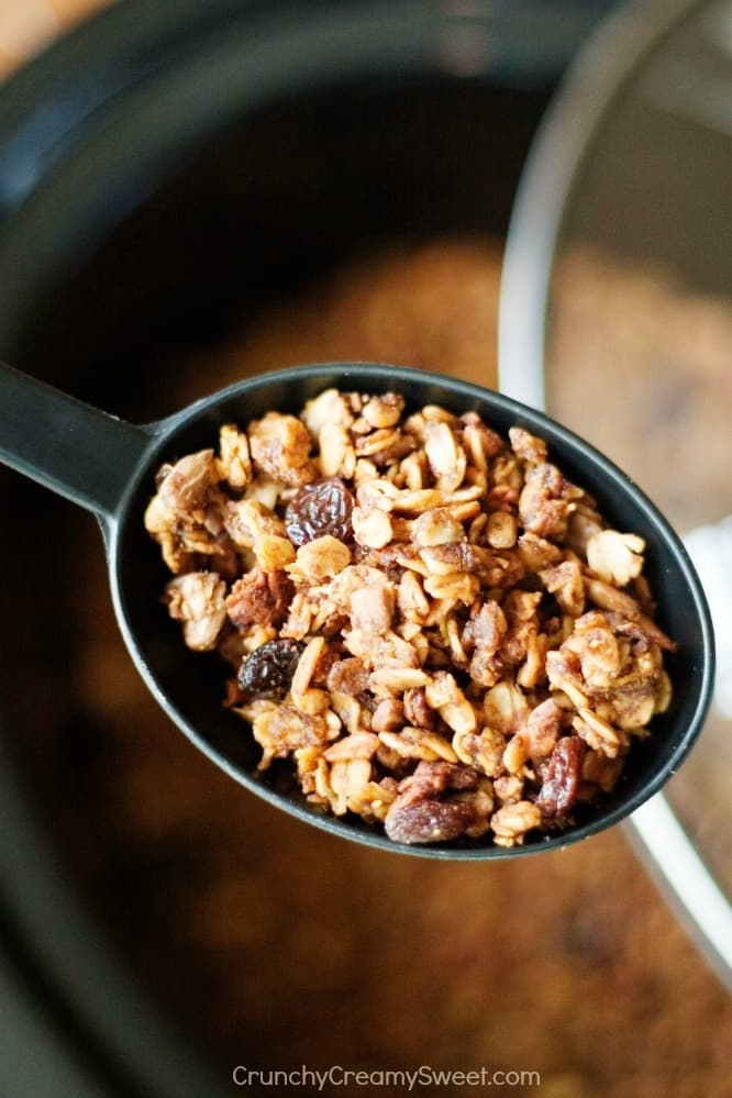 Slow Cooker Granola 1 Nutella Pumpkin Slow Cooker Granola