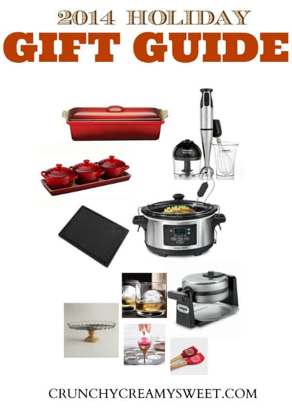 2014 Holiday Gift Guide on CrunchyCreamySweet.com  2014 Holiday Gift Guide