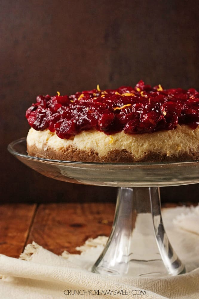 Cranberry Orange Cheesecake Cranberry Orange Cheesecake