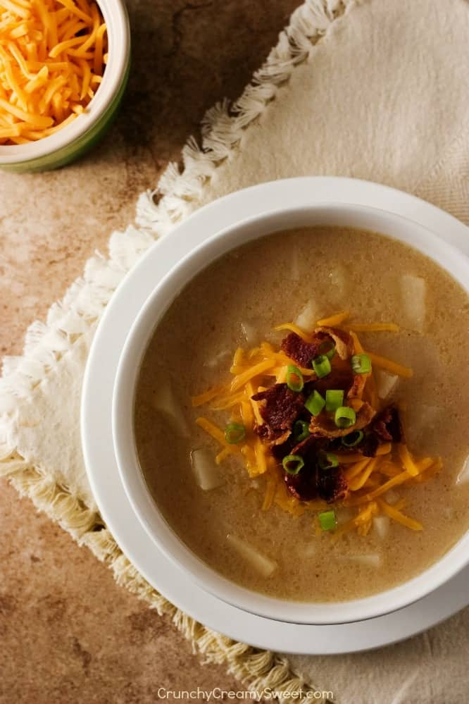 Crockpot Baked Potato Soup Slow Cooker Baked Potato Soup