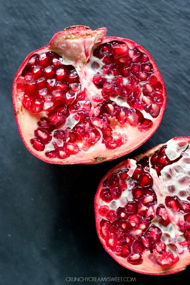 Fresh Pomegranate Cranberry Pomegranate Smoothie
