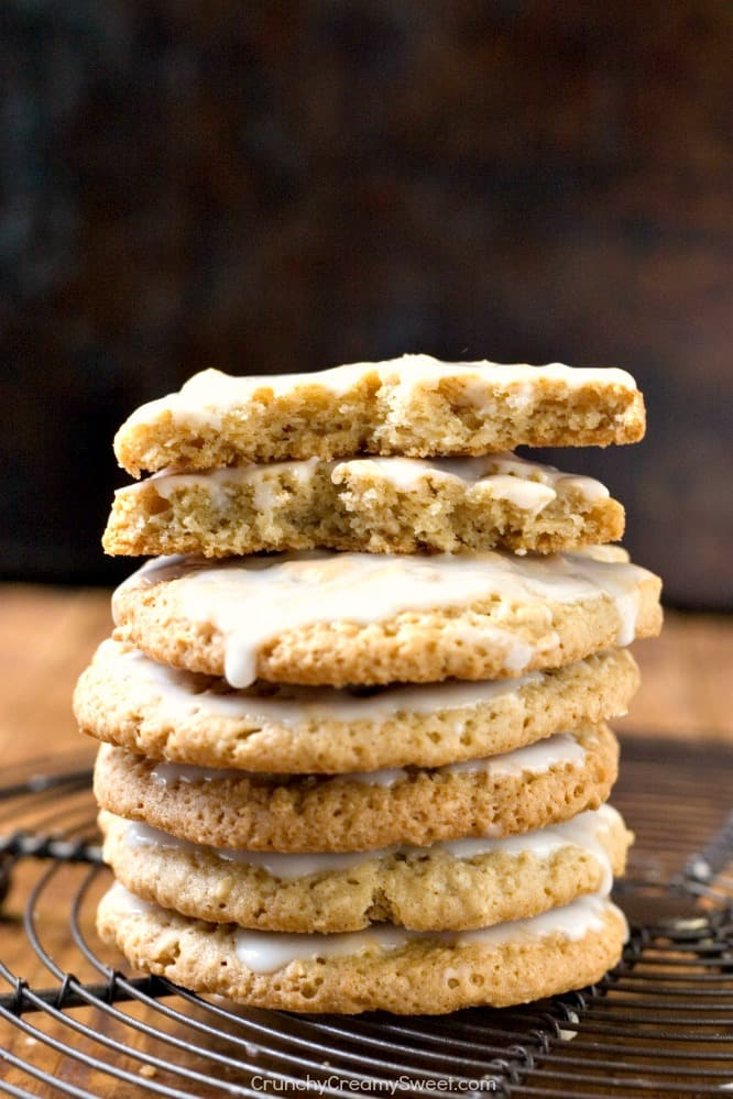 Old Fashioned Oatmeal Cookies Old Fashioned Iced Oatmeal Cookies