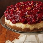 Orange Cheesecake with Cranberry Topping 150x150 Cranberry Orange Cheesecake