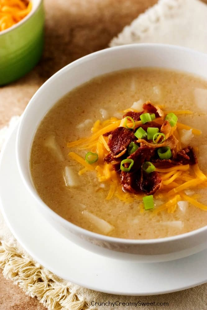 Slow Cooker Baked Potato Soup Slow Cooker Baked Potato Soup