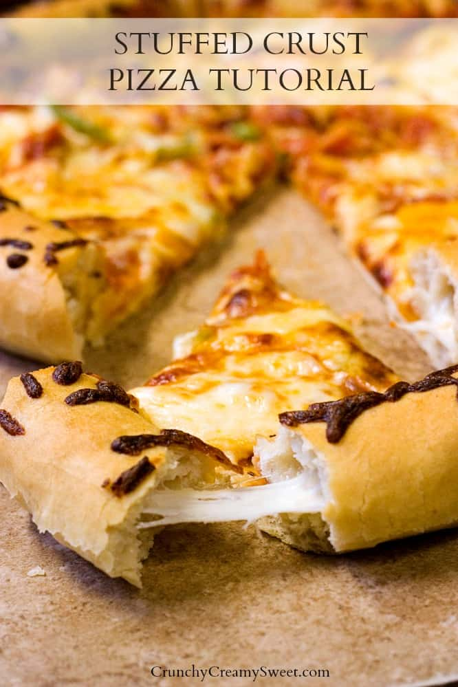 the best homemade pizza dough Stuffed Crust Pizza