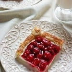 Easy Cherry Cream Tart for the Holidays 150x150 Cherry Cream Puff Pastry Tart