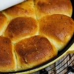 Easy Skillet Dinner Rolls with Citrus and Herbs 150x150 Easy Skillet Dinner Rolls with Citrus and Herbs