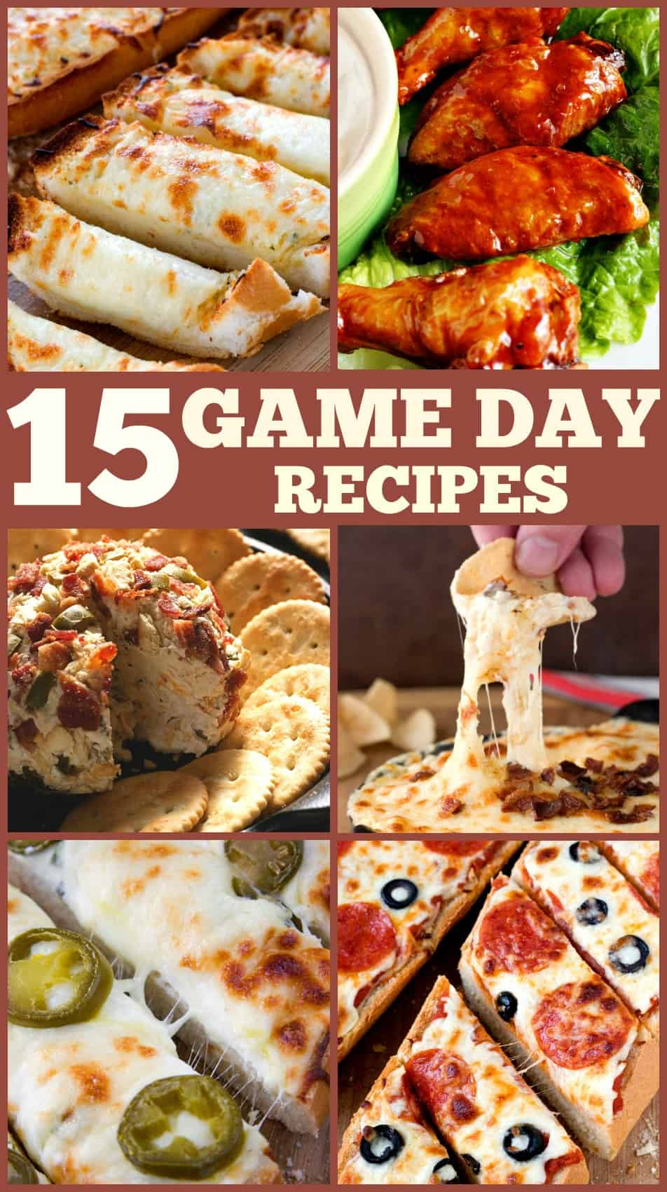 15 Best Game Day Recipes 15 Best Game Day Recipes