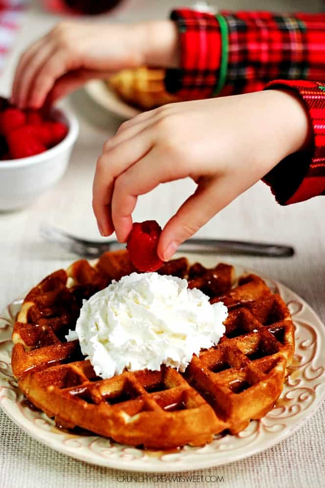 Best Sunday Waffles Our Favorite Sunday Waffles aka The Best Waffles Ever