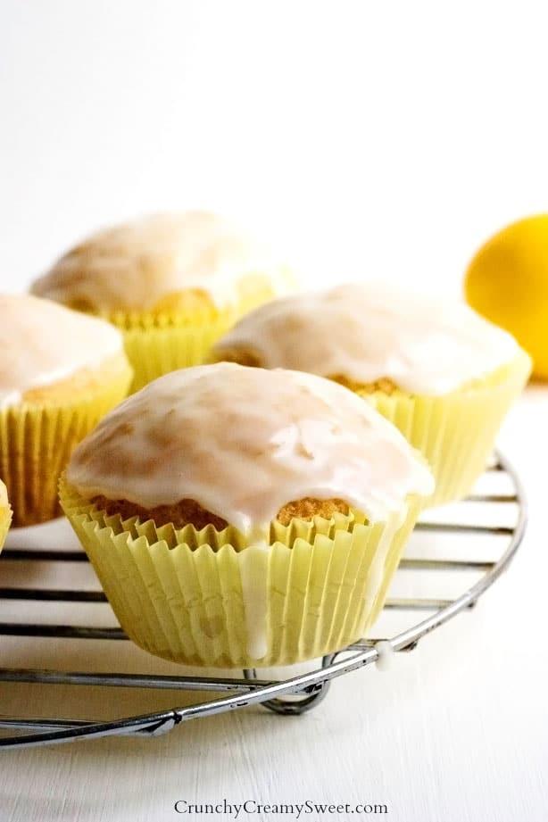 Lemon Muffins with Glaze new Lemon Cream Cheese Crumb Cake