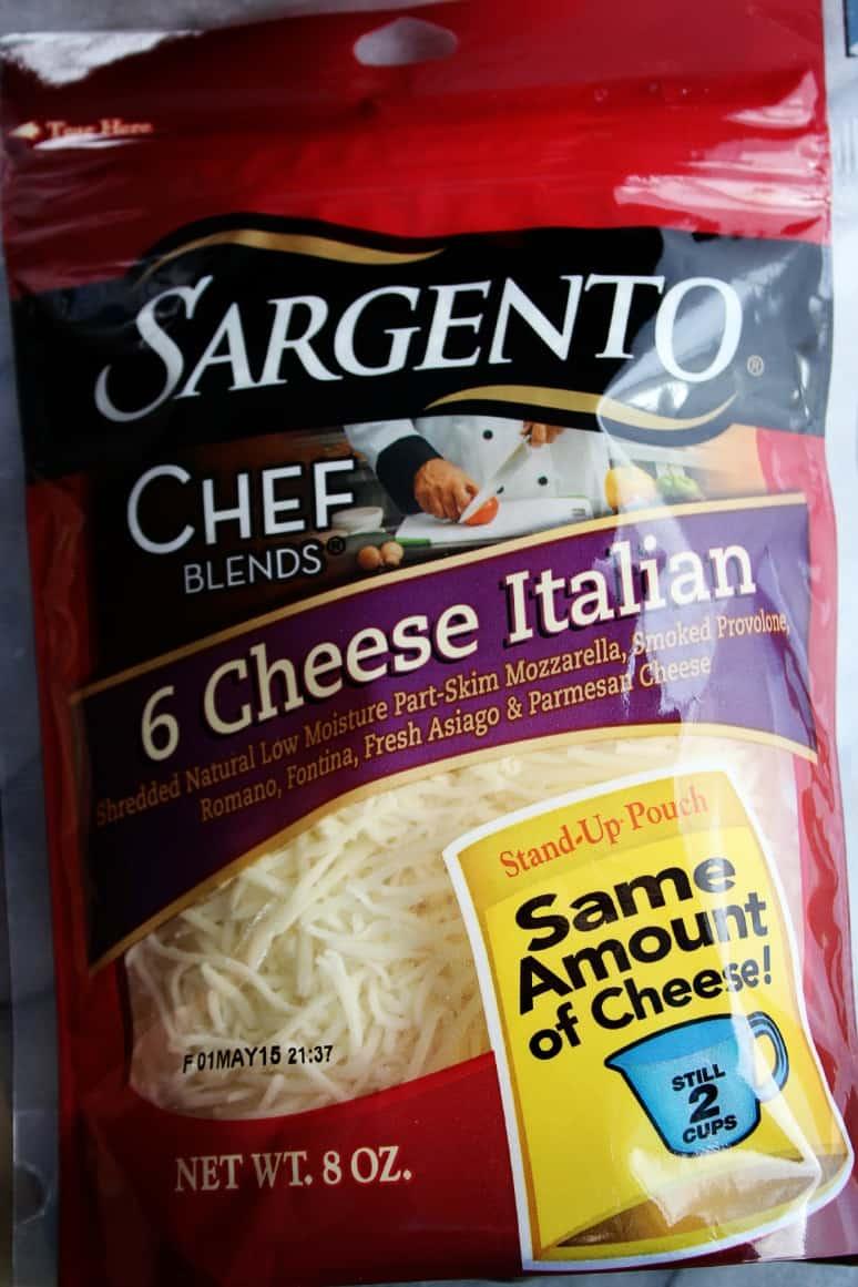 Sargento Cheese Italian Chicken Cheesy Bread
